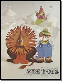 1974 Zee Toys Catalog