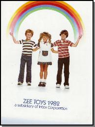 1982 Zee Toys Catalog